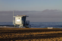 Lifeguard Station at Venice Beach, California Royalty Free Stock Photos