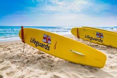 Lifeguard (Surf Boards) Stock Photography