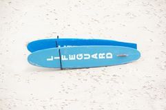 Lifeguard Surfboard Stock Photography