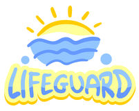 Lifeguard symbol Royalty Free Stock Photography