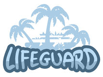 Lifeguard symbol Royalty Free Stock Photo