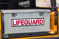 Lifeguard Toolbox Royalty Free Stock Photo