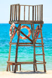 Lifeguard tower Stock Photography