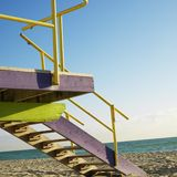 Lifeguard tower Royalty Free Stock Photos