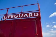 Lifeguard Tower Royalty Free Stock Photos