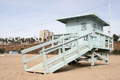 Lifeguard tower. A Lifeguard tower on the beach Royalty Free Stock Image