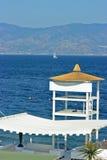 Lifeguard tower Stock Images