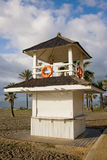 Lifeguard Tower on a Beach in Marbella Royalty Free Stock Photos