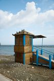 Lifeguard tower Royalty Free Stock Photography