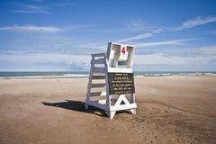 Lifeguard Tower Dunes State Park. Lifeguard Tower at Dunes State Park, Indiana Stock Image