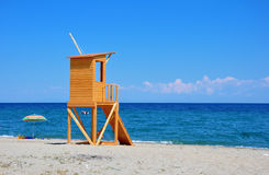 Lifeguard tower Stock Photos