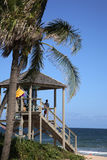 Lifeguard Tower Florida Royalty Free Stock Images