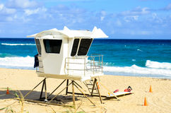Lifeguard tower image Royalty Free Stock Photos