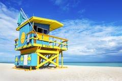 Free Lifeguard Tower, Miami Beach, Florida Stock Images - 42193214
