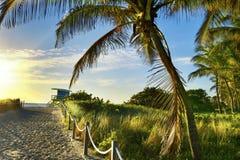 Lifeguard Tower, Miami Beach, Florida Royalty Free Stock Photo