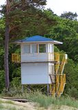 Lifeguard tower. Stock Image