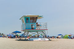 Lifeguard Tower royalty free stock photo