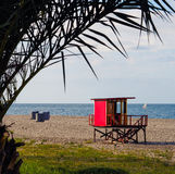 Lifeguard tower Royalty Free Stock Image