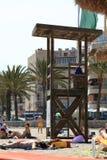 Lifeguard tower Stock Photography