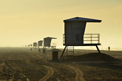 Lifeguard Towers Royalty Free Stock Photos
