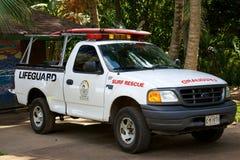 Lifeguard truck Stock Photo