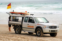 Lifeguard vehicle Stock Images