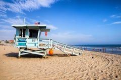 Lifeguard on Venice beach Royalty Free Stock Photos