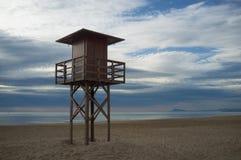 Lifeguard watchtower Stock Image