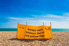 Lifeguard Windbreak Royalty Free Stock Images