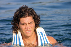 lifejacket спортсмена Стоковое фото RF