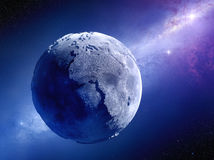 Lifeless Earth Millions Of Years After Global Disaster Royalty Free Stock Photo