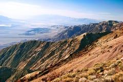 Lifeless landscape. Of  Death Valley. California. USA Royalty Free Stock Photos