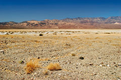 Lifeless landscape of the Death Valley Stock Photography
