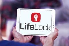 LifeLock-Firmenlogo lizenzfreies stockfoto