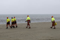 Lifequard na praia Fotos de Stock Royalty Free
