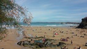 Lifes海滩 免版税库存图片