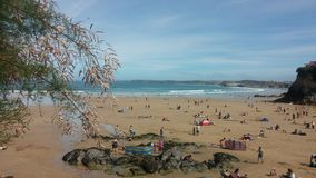 Lifes een strand royalty-vrije stock afbeelding