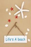 Lifes plaża Zdjęcia Stock
