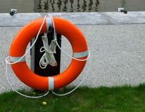 Lifesaver έτοιμο για χρήση στοκ εικόνα με δικαίωμα ελεύθερης χρήσης