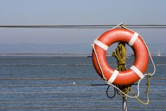 Lifesaver 2 Stock Photography