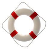 Lifesaver. Isolated over a white background Stock Photo