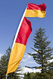 Lifesaver Beach Flags Royalty Free Stock Images