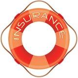 Lifesaver do seguro ilustração do vetor
