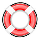 Lifesaver Icon EPS. A life saver / preserver ring icon. Shadow placed on a separate layer. Available in vector EPS format royalty free illustration