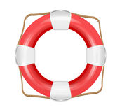 Lifesaver icon isolated. Stock Photo