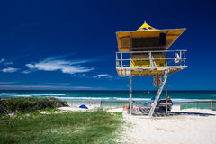 Lifesaver patrol tower Royalty Free Stock Photo