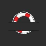 Lifesaver on pocket vector illustration Stock Photography