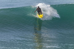 LifeSaver Rescue Ski Craft Waves Surfing Royalty Free Stock Image
