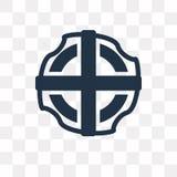 Lifesaver vector icon isolated on transparent background, Lifesa vector illustration