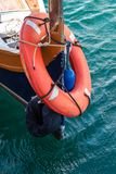 Lifesaverfartyg malta royaltyfri foto
